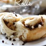 S'mores Rolls from chef-in-training.com ...All your favorite flavors of S'mores, crammed into one ooey gooey delicious variation of a cinnamon roll!