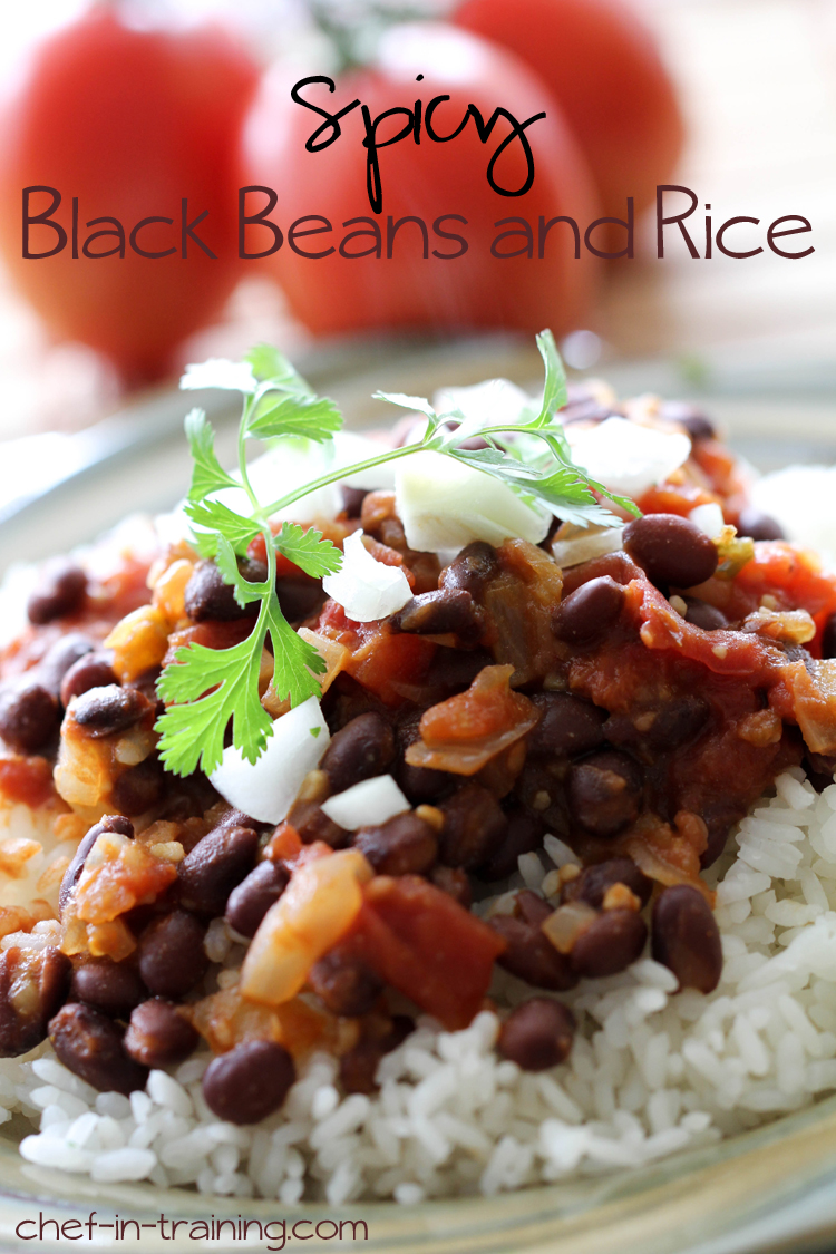 Spicy Black Beans and Rice | Chef in Training