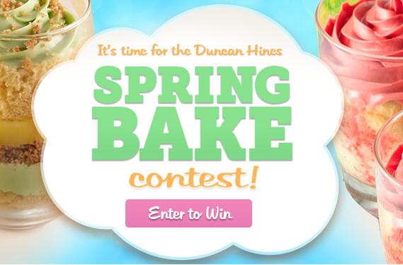 Duncan Hines Spring Break Contest