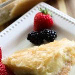 Galaktoboureko {Greek Custard Pie} from chef-in-training.com ...an authentic and DELICIOUS Greek recipe!