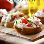 Greek Crostini
