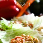 Peanut Lettuce Wraps from chef-in-training.com ...These are a fun and delicious way to bring something new to the dinner table!
