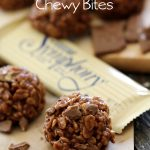 Symphony Chocolate Chewy Bites from chef-in-training.com ...These are SUPER EASY to make and are perfect to hit that chocolate craving! They are delicious!