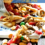 Bear Lake Trail Mix from chef-in-training.com... The perfect snack for any road trip, vacation or snack food craving! The perfect mix of everything delicious!