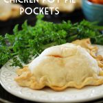 Chicken Pot Pie Pockets from chef-in-training.com ...An easy and delicious personal-sized dinner the whole family will love! Also a great freezer meal to pull out on an as-needed basis!