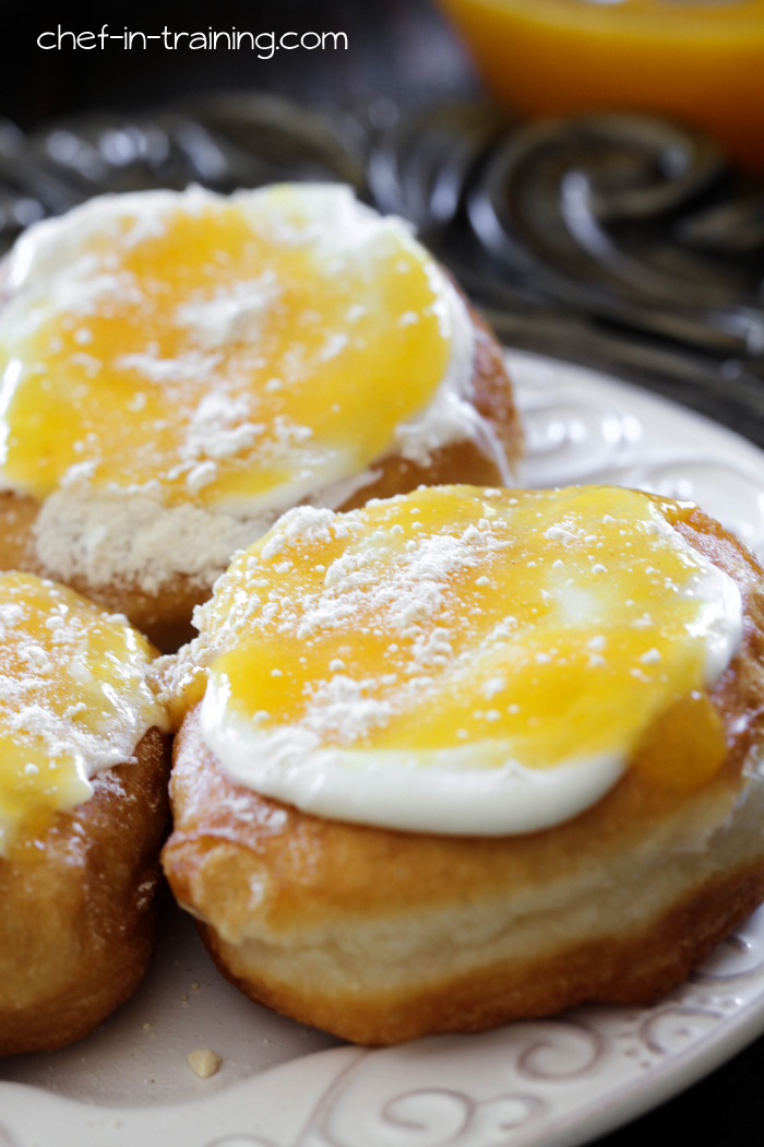 "Gourdough's ""Son of a Peach"" Donut Copycat Recipe! These taste like Peach Cobbler... only donut style! SO GOOD!"