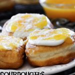 "Gourdough's ""Son of a Peach"" Donut Copycat Recipe! These taste like Peach Cobbler... only donut style! SO GOOD!"