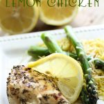 Grilled Lemon Chicken from chef-in-training.com ...This is the perfect dinner for summer! A definite MUST TRY!