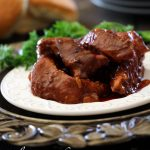 Slow Cooker BBQ Ribs from chef-in-training.com ...One of the easiest recipes and so delicious!