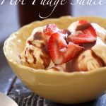 The BEST Hot Fudge Sauce from chef-in-training.com ...Once you try this you won't be able to eat any other kind out there! It is SO good!