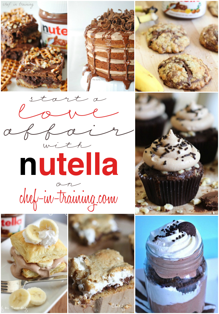 Over 50 Mouthwatering Nutella Recipes Chef In Training