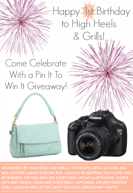 Come visiti chef-in-training.com to enter for your chance to win a camera and camera bag!