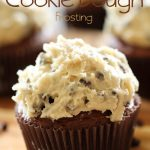 Cream Cheese Cookie Dough Frosting from chef-in-training.com ...This frosting is incredible! Seriously, you need to make it to see for yourself!