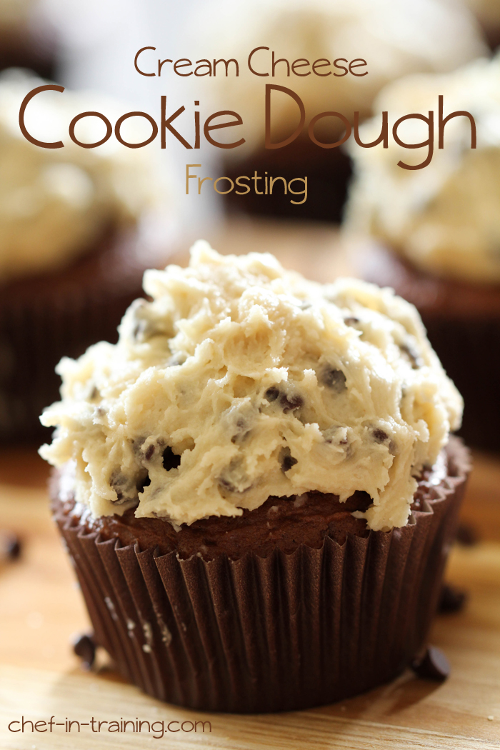 Cream Cheese Cookie Dough Frosting | Chef in Training
