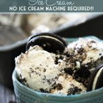 Homemade Oreo Nutella Ice Cream! NO ICE CREAM MACHINE REQUIRED! This Ice Cream is DELICIOUS! And whips up in no time at all!
