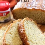 Perfect Poppy Seed Bread from chef-in-training.com ...The texture and flavor of this recipe is seriously melt-in-your-mouth delicious! My favorite!