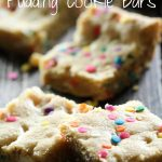 Cake Batter Pudding Cookie Bars from chef-in-training.com ...These bars are insanely delicious! So soft and full of cake batter flavor! A family favorite!