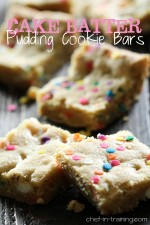 Cake Batter Pudding Cookie Bars