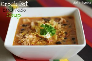 Crock Pot Enchilada Soup