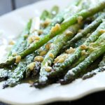 Parmesan Garlic Asparagus from chef-in-training.com ...My favorite way to eat asparagus! Very few ingredients, yet super flavorful and delicious!