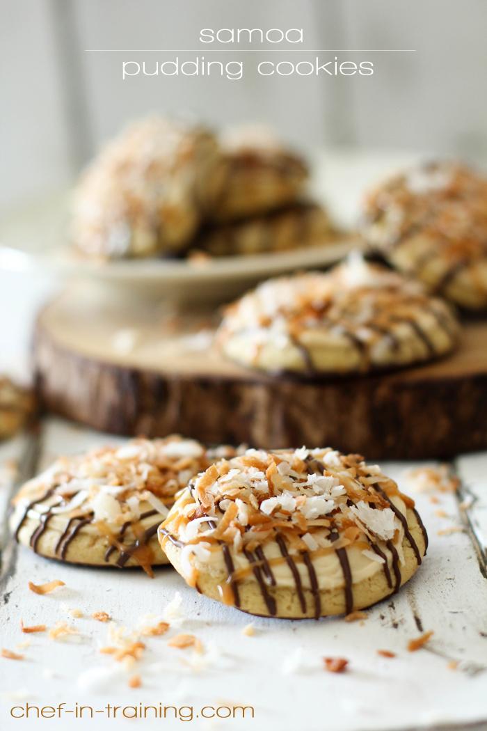Samoa cookie recipes