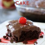 Cherry Chocolate Cake from chef-in-training.com ...Uses pie filling and cake mix to create a delicious and simple cake!