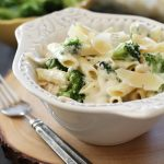 Chicken Broccoli Alfredo Pasta from chef-in-training.com ...This meal is a family favorite! It is seriously SO good!