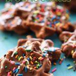 Waffle Brownie Cookies