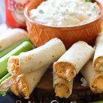 Buffalo Chicken Taquitos from chef-in-training.com ...This recipe is INSANELY delicious! A must try for sure!