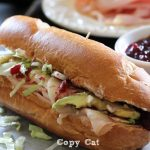 "Copy cat of True Aggie Cafe's ""The Downtowner"" sandwich on chef-in-training.com is one of THE BEST sandwiches you will ever eat! And its perfect for Thanksgiving leftovers!"