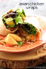Asian Chicken Wraps
