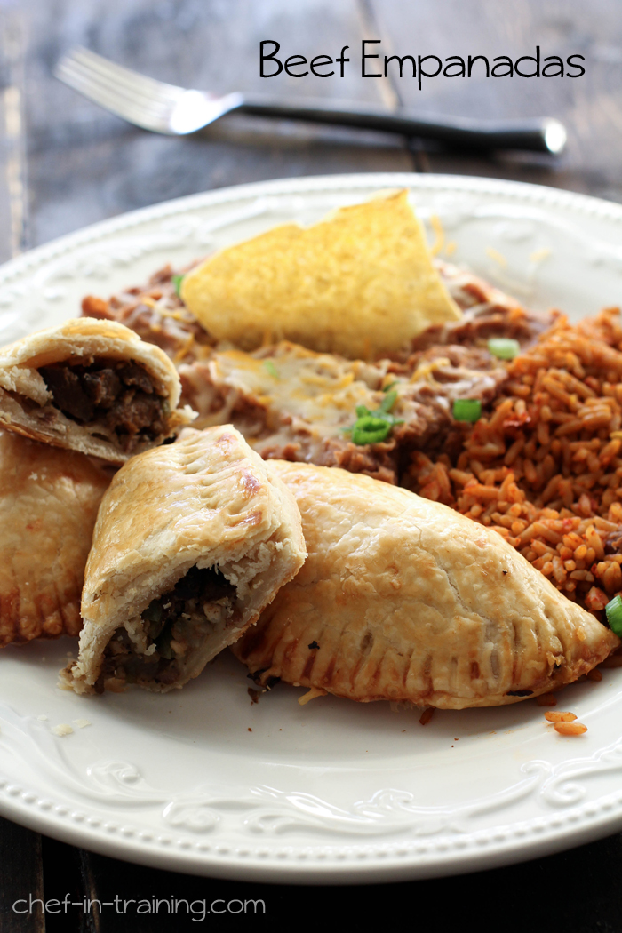 Beef Empanadas from chef-in-training.com ...A easy and delicious ...