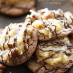 German Chocolate Cookies from chef-in-training.com ...These cookies are seriously SO GOOD! A must try recipe!