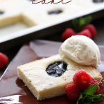 Shortbread Cake from chef-in-training.com ...This cake is a soft and fluffier version of shortbread cookies. It is super simple to make and tastes absolutely delicious!