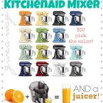 Kitchen Aid and Juicer Giveaway on chef-in-training.com