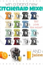 KitchenAid and a Juicer Giveaway!