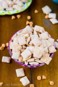 Butterscotch Peanut Butter Puppy Chow
