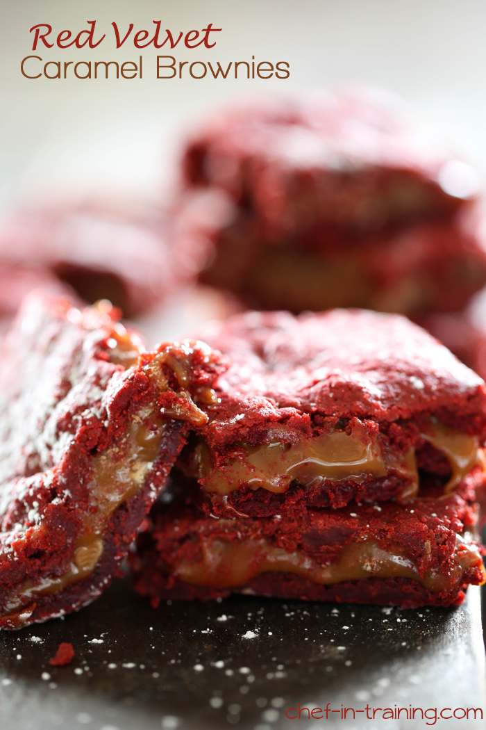 Red Velvet Ooey Gooey Butter Cake