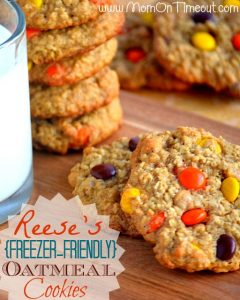 Reese's (Freezer-Friendly) Oatmeal Cookies