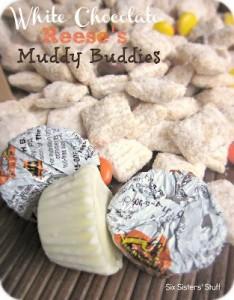 White Chocolate Reese's Muddy Buddies