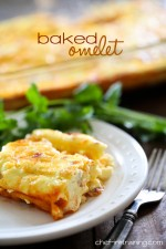 Baked Cheesy Omelet