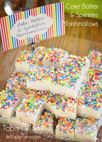 Cake Batter & Sprinkles Marshmallows