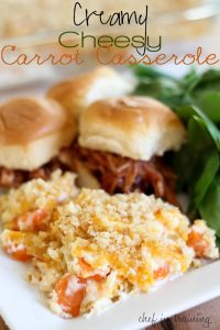 Creamy Cheesy Carrot Casserole