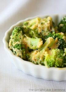Creamy Hummus Broccoli
