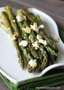 Lemon Pepper & Feta Roasted Asparagus