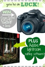Canon Rebel DSLR Camera and Adobe Lightroom Giveaway