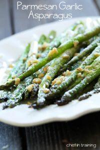 Parmesan-Garlic-Asparagus