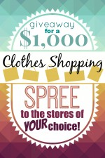 $1000 Clothes Shopping Giveaway