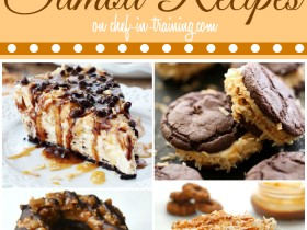 40+ Samoa Recipes on chef-in-training.com ...If you love chocolate, caramel and coconut then this is the list for you!