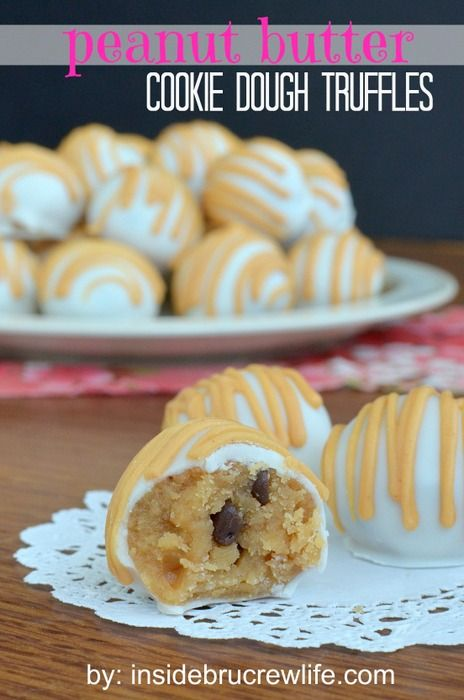 50 Absolutely Irresistible Cookie Dough Recipes | www.chef-in-training.com